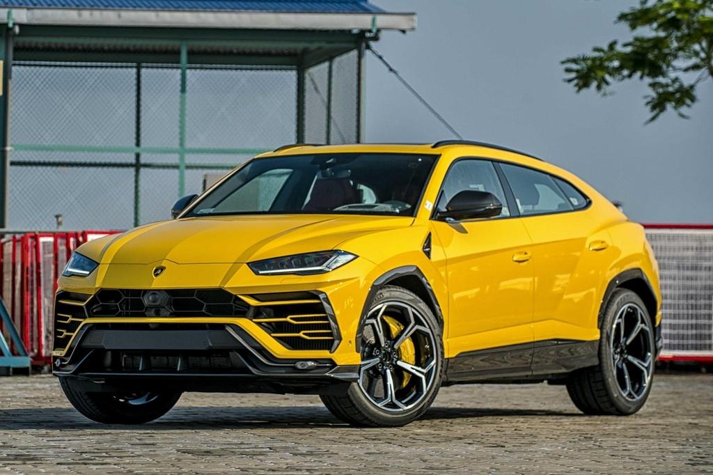 Sieu SUV Lamborghini Urus chinh hang anh 2