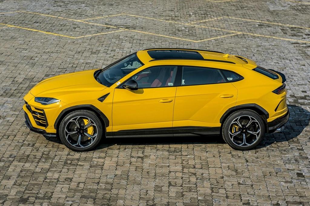Sieu SUV Lamborghini Urus chinh hang anh 4
