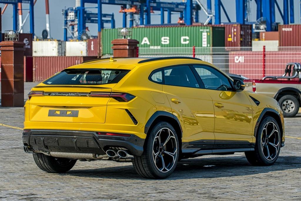 Sieu SUV Lamborghini Urus chinh hang anh 5