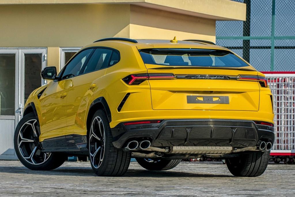 Sieu SUV Lamborghini Urus chinh hang anh 6