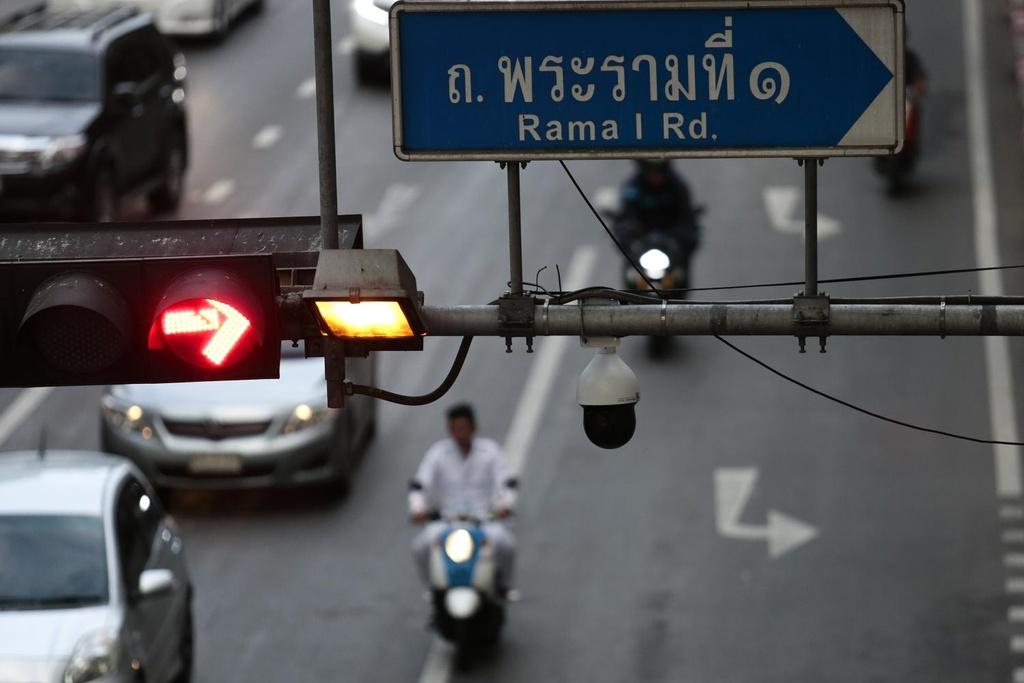 Thai Lan dung bang lai xe dien tu, tru diem, treo bang qua smartphone hinh anh 3