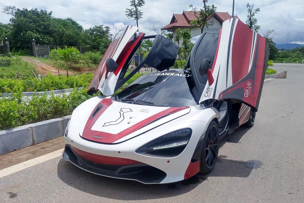 McLaren 720S vuot bien gioi, sang Lao tien tram Asean Rally 2020 hinh anh 7