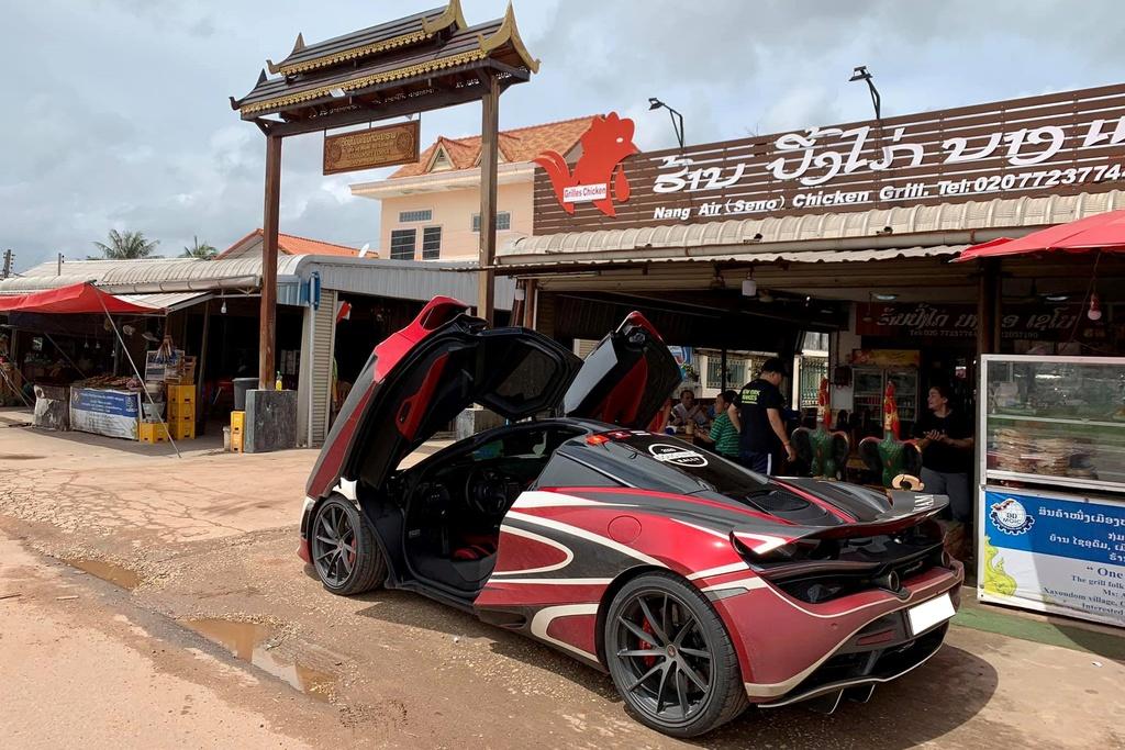 McLaren 720S vuot bien gioi, sang Lao tien tram Asean Rally 2020 hinh anh 6