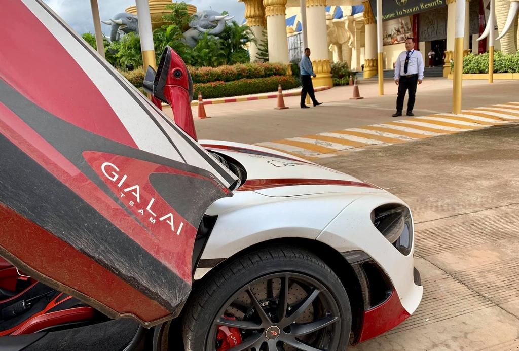 McLaren 720S vuot bien gioi, sang Lao tien tram Asean Rally 2020 hinh anh 5