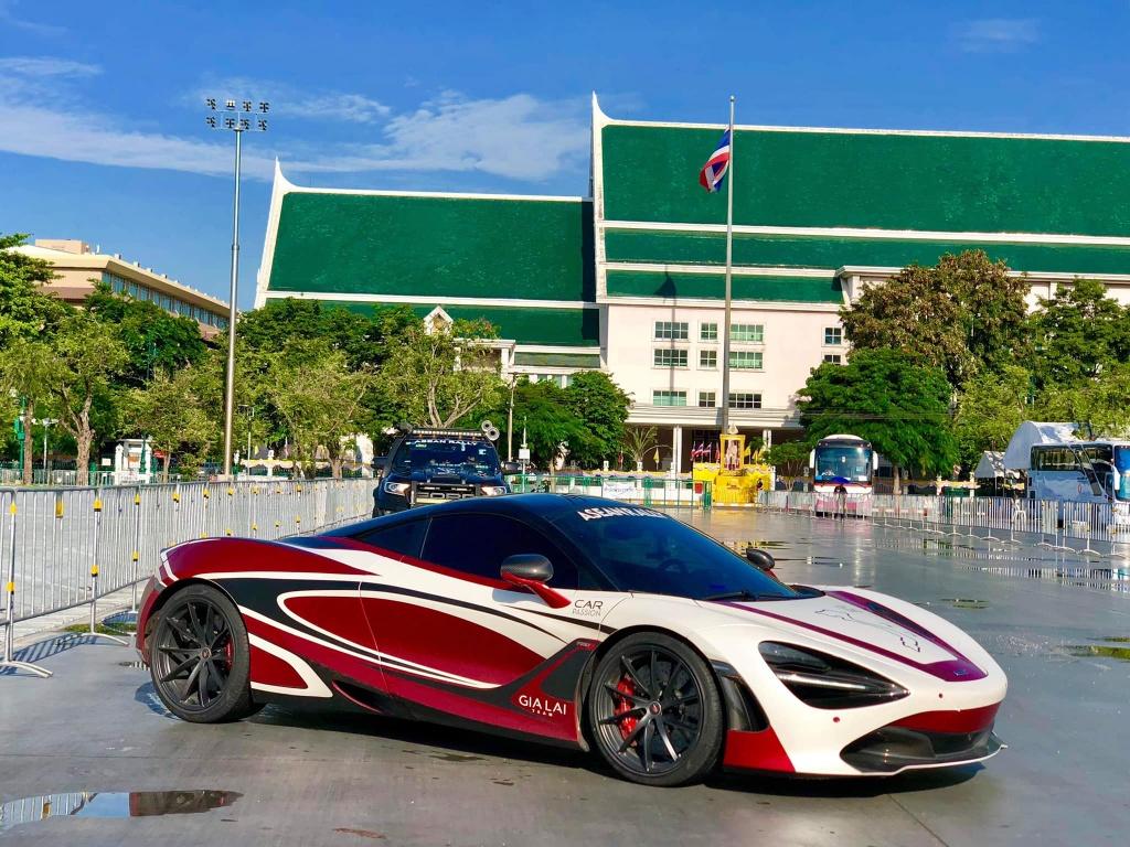 McLaren 720S tien tram hanh trinh sieu xe da ve VN anh 9