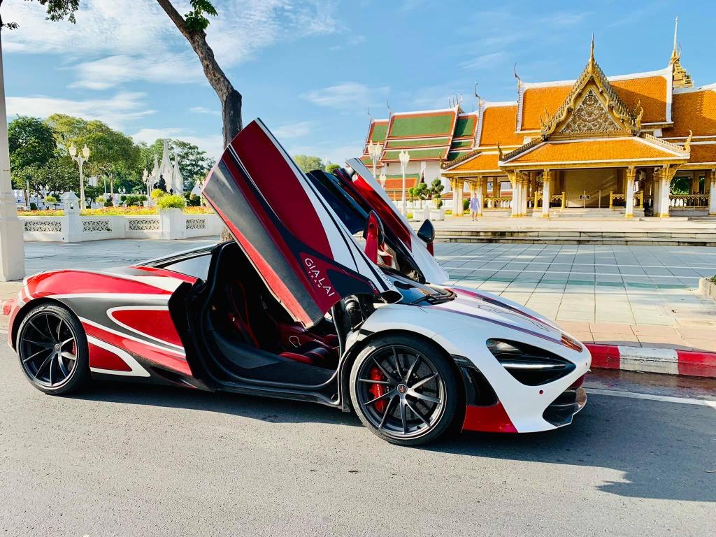 McLaren 720S tien tram hanh trinh sieu xe da ve VN anh 7