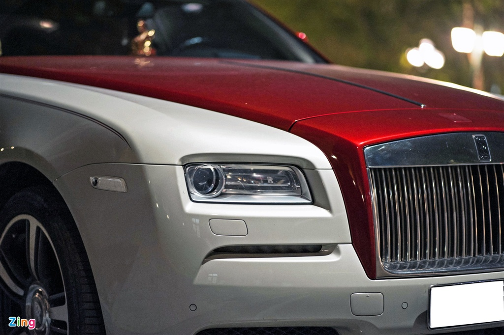 Rolls-Royce Wraith phoi mau la tai Ha Noi anh 8