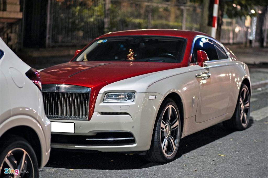 Rolls-Royce Wraith phoi mau la tai Ha Noi anh 10