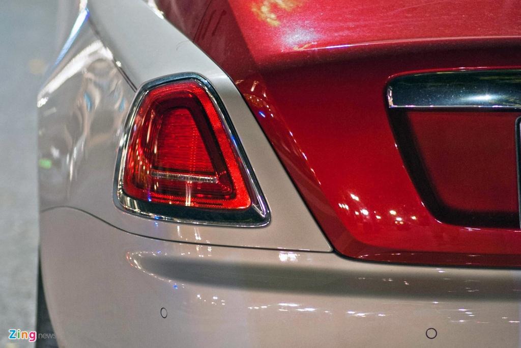 Rolls-Royce Wraith phoi mau la tai Ha Noi anh 7