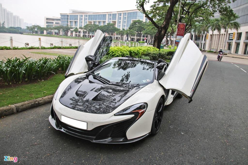 McLaren 650S Spider choi troi voi ong xa tri gia 300 trieu tai TP.HCM hinh anh 1