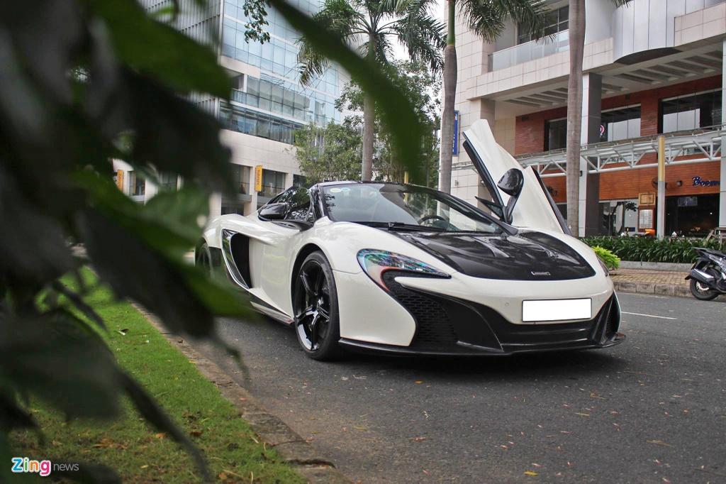 McLaren 650S Spider choi troi voi ong xa tri gia 300 trieu tai TP.HCM hinh anh 5