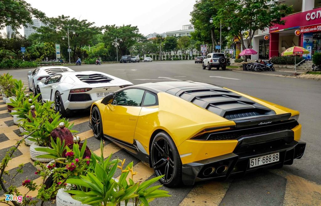 Lamborghini Huracan tai xuat Sai Gon anh 2