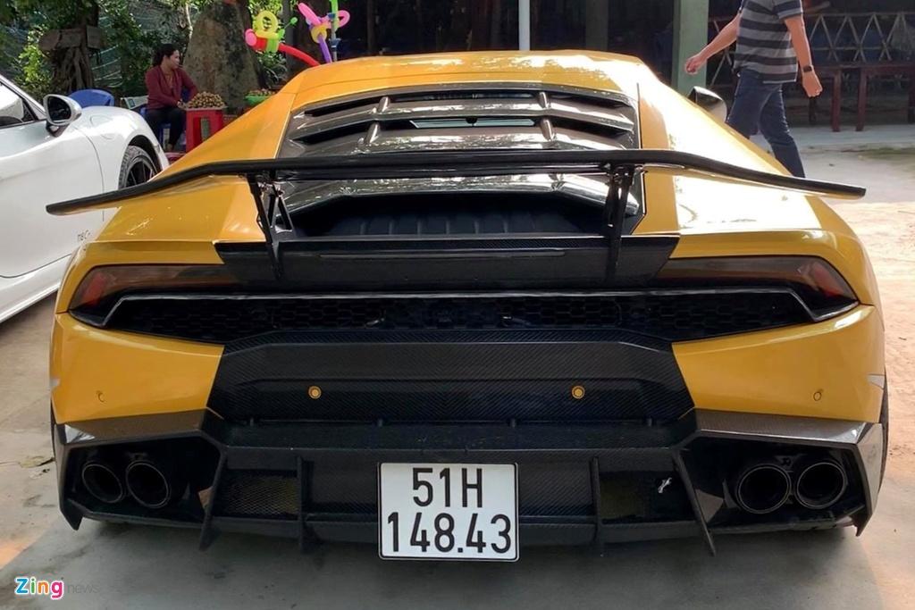 Lamborghini Huracan tai xuat Sai Gon anh 7