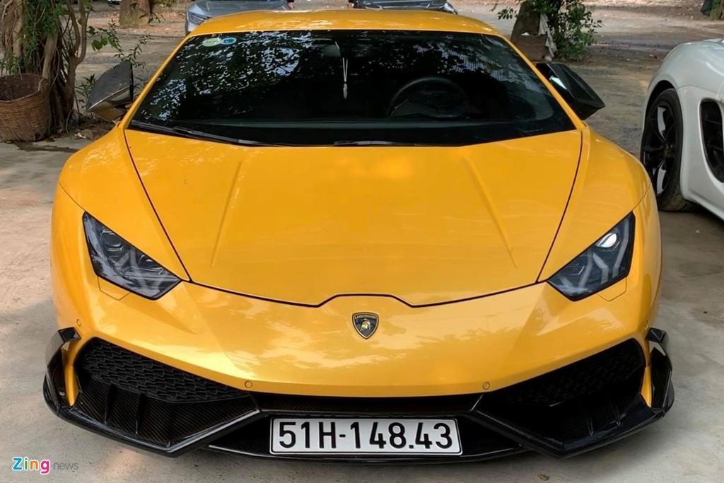 Lamborghini Huracan tai xuat Sai Gon anh 8