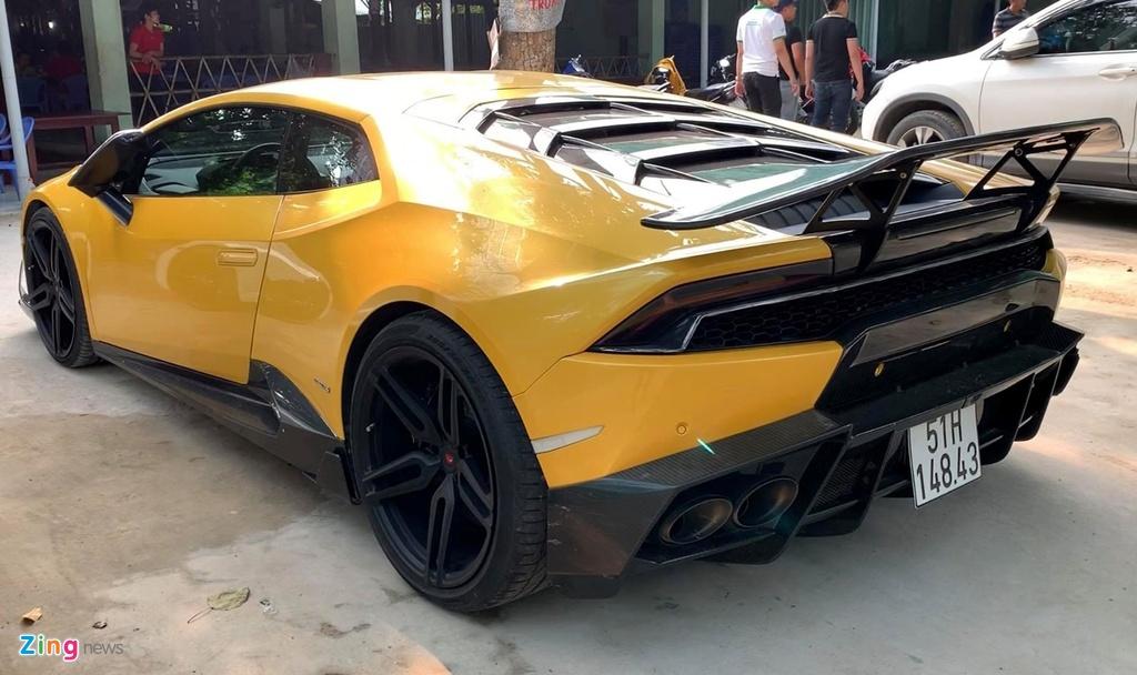 Lamborghini Huracan tai xuat Sai Gon anh 6
