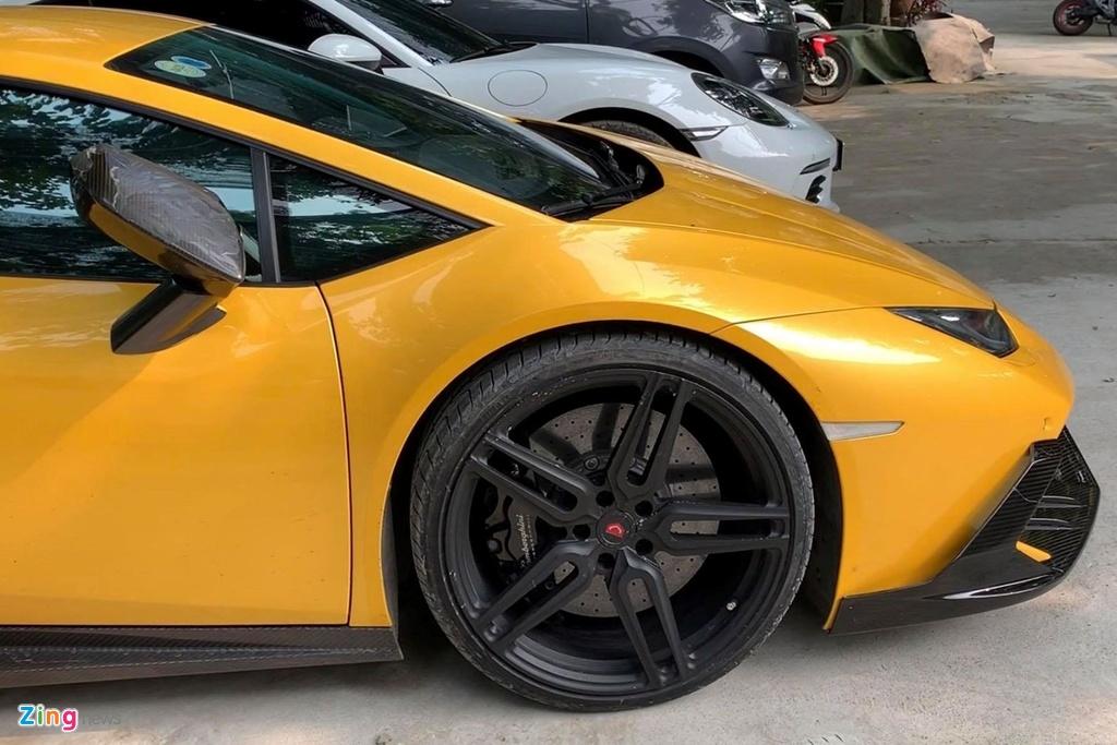 Lamborghini Huracan tai xuat Sai Gon anh 4