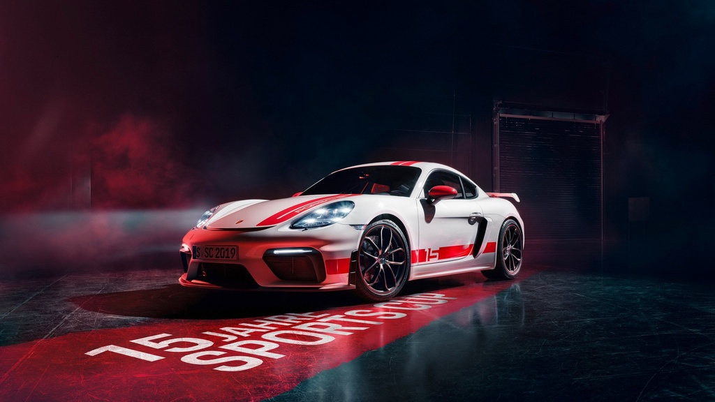 Porsche 718 Cayman phien ban xe dua - chat hon, suc manh khong doi hinh anh 1