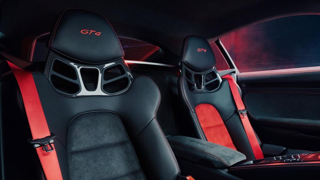 Porsche 718 Cayman phien ban xe dua - chat hon, suc manh khong doi hinh anh 4