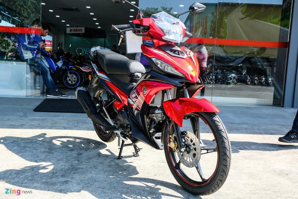 Chi tiet Yamaha Exciter 135 the he moi vua ra mat tai Malaysia hinh anh 1