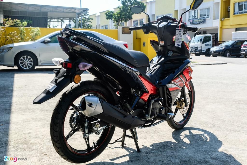 Chi tiet Yamaha Exciter 135 the he moi vua ra mat tai Malaysia hinh anh 11