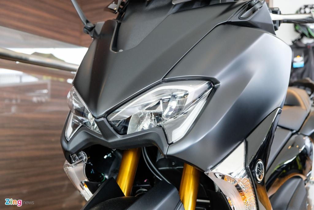 Can canh Yamaha T-Max - xe tay ga 530 phan khoi hinh anh 5