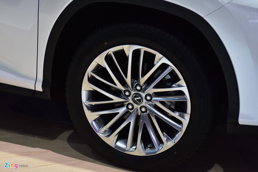 Chi tiet Lexus RX 450h ban nang cap tai Viet Nam hinh anh 5