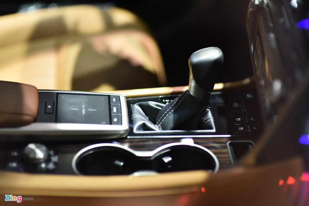 Chi tiet Lexus RX 450h ban nang cap tai Viet Nam hinh anh 7