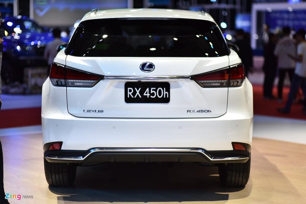 Chi tiet Lexus RX 450h ban nang cap tai Viet Nam hinh anh 4