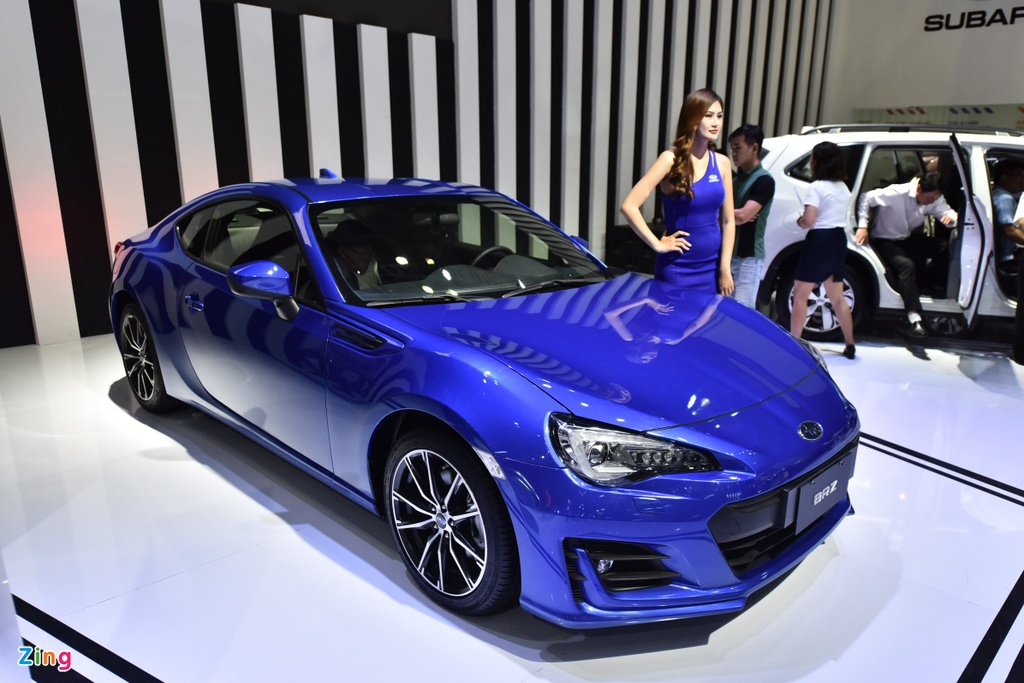 Chi tiet xe the thao Subaru BRZ anh 1