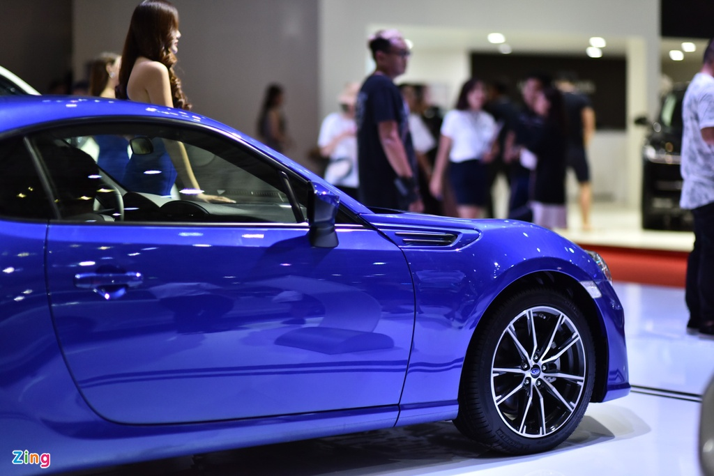 Chi tiet xe the thao Subaru BRZ anh 4