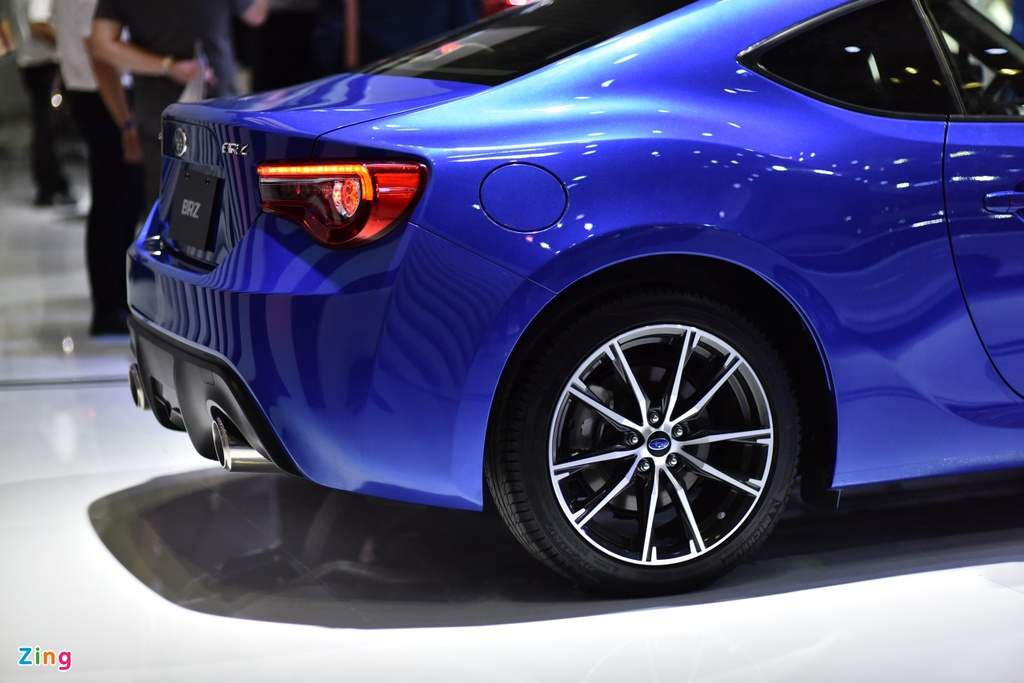Chi tiet xe the thao Subaru BRZ anh 5