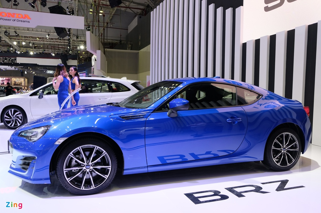Chi tiet xe the thao Subaru BRZ anh 2