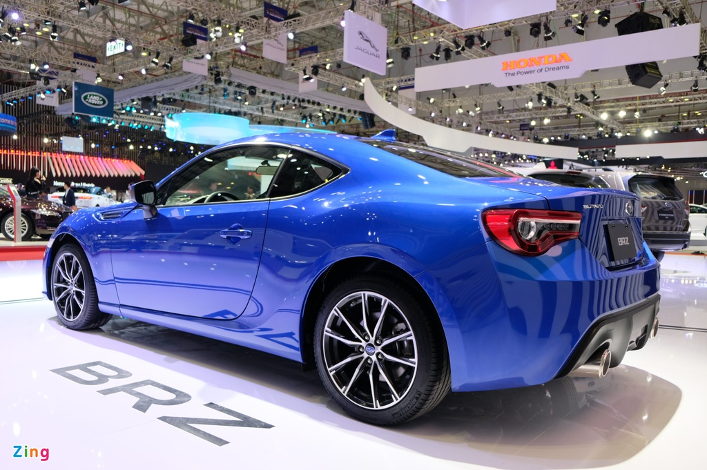 Chi tiet xe the thao Subaru BRZ anh 11