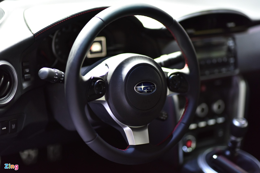 Chi tiet xe the thao Subaru BRZ anh 8