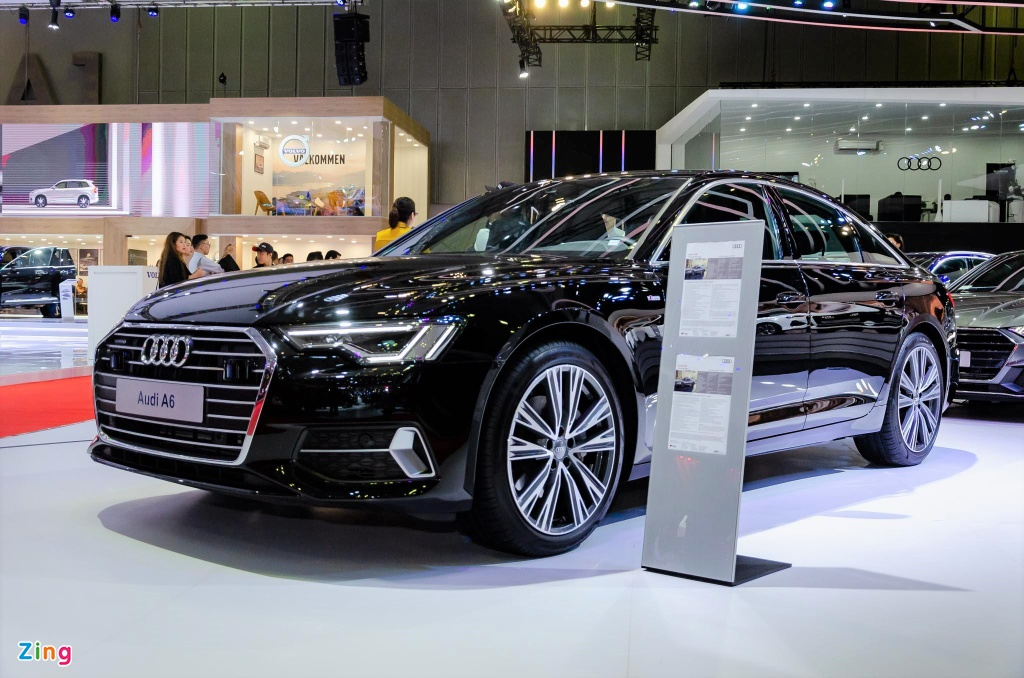 Audi A6 the he moi ve Viet Nam, canh tranh Mercedes E-Class hinh anh 13