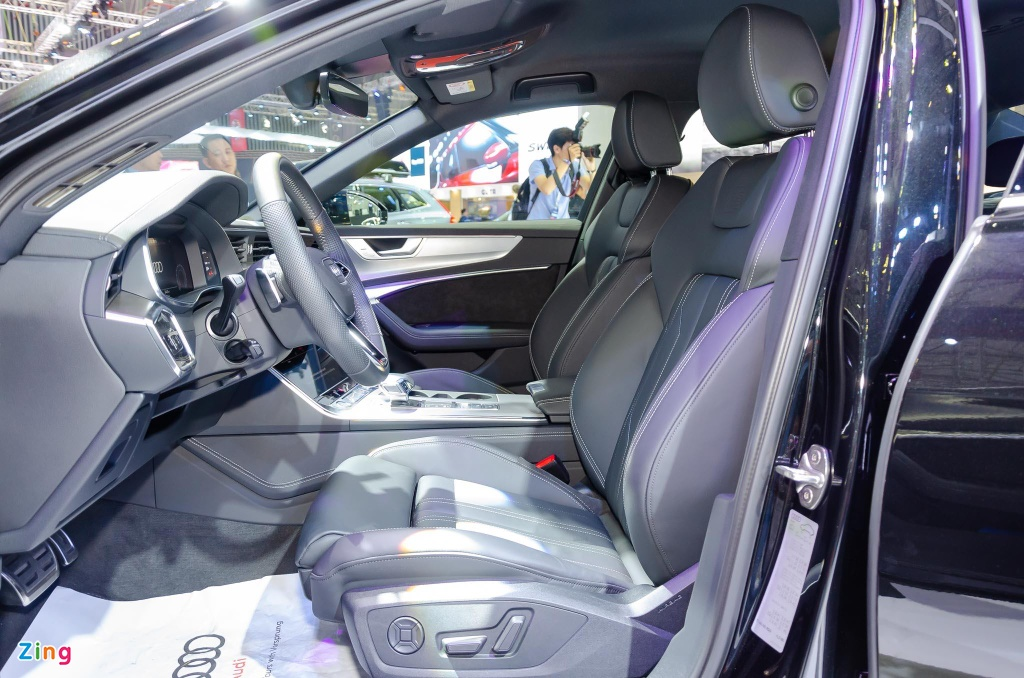 Audi A6 the he moi ve Viet Nam, canh tranh Mercedes E-Class hinh anh 8