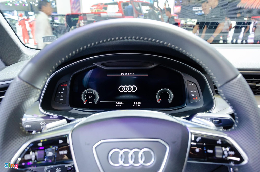 Audi A6 the he moi ve Viet Nam, canh tranh Mercedes E-Class hinh anh 9
