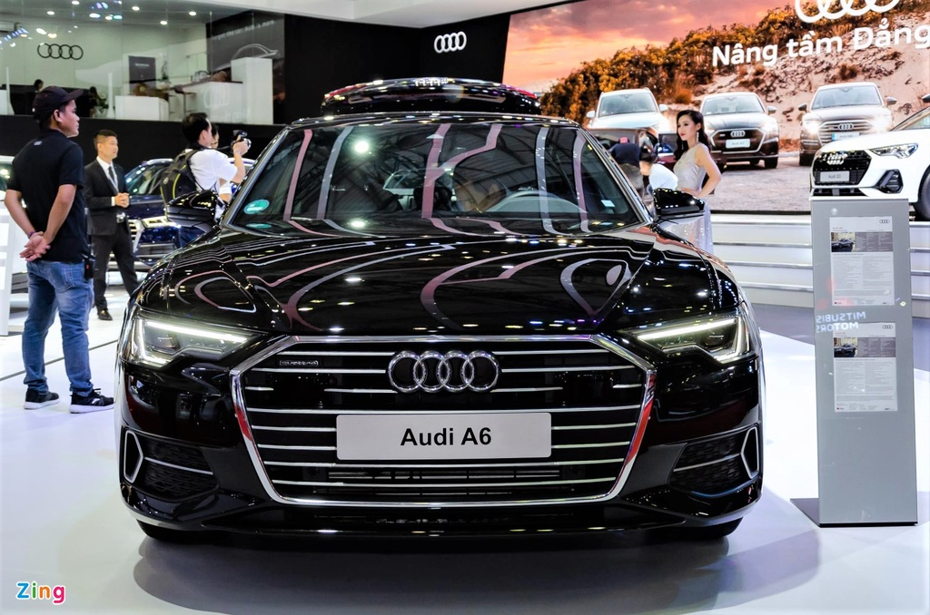 Audi A6 the he moi ve Viet Nam, canh tranh Mercedes E-Class hinh anh 3