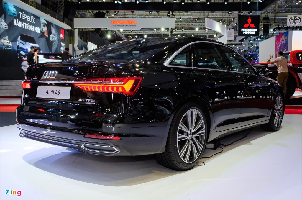 Audi A6 the he moi ve Viet Nam, canh tranh Mercedes E-Class hinh anh 2