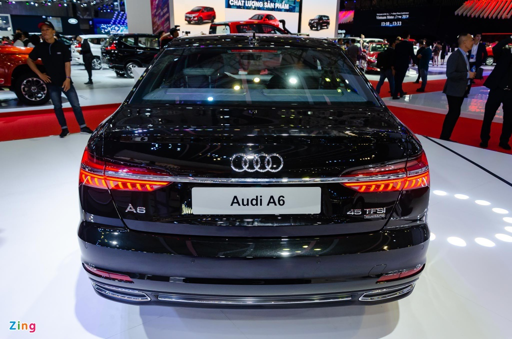 Audi A6 the he moi ve Viet Nam, canh tranh Mercedes E-Class hinh anh 5