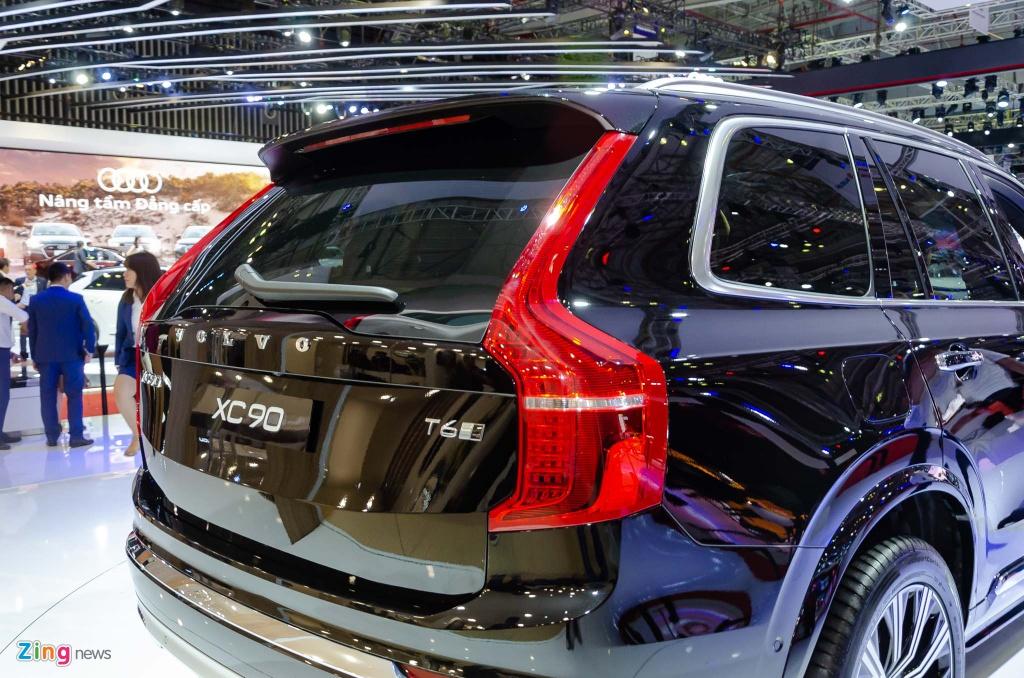Volvo XC90 ban nang cap ra mat anh 4