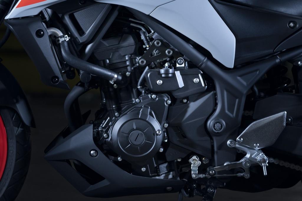 Yamaha MT-03 2020 lot xac o thiet ke, suc manh khong doi hinh anh 9