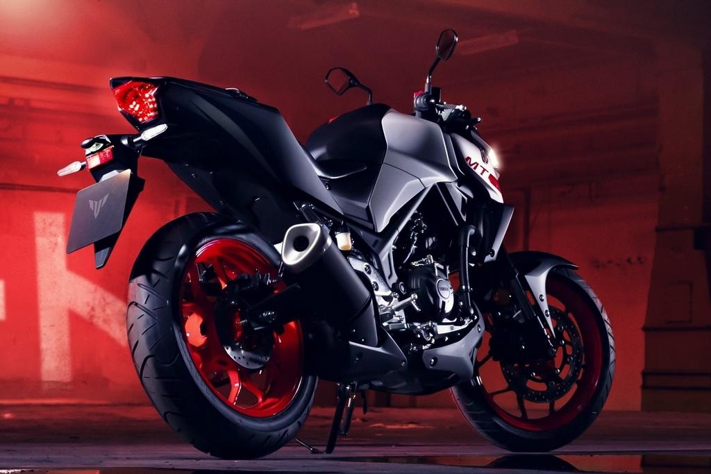 Yamaha MT-03 2020 lot xac o thiet ke, suc manh khong doi hinh anh 3