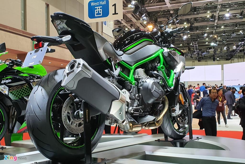 Can canh sieu nakedbike Kawasaki Z H2, suc keo khung hon Ninja H2 hinh anh 2