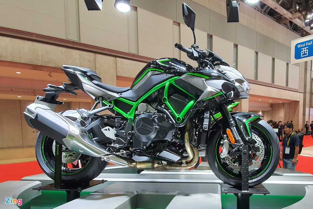 Can canh sieu nakedbike Kawasaki Z H2, suc keo khung hon Ninja H2 hinh anh 1