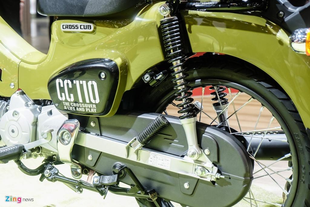 Honda Cross Cub 110 - chiec Cub cho nguoi thich noi loan hinh anh 6