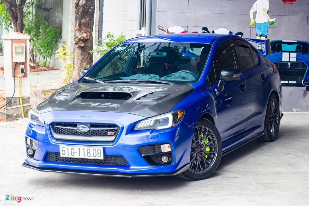 Subaru WRX STi do 500 ma luc anh 1