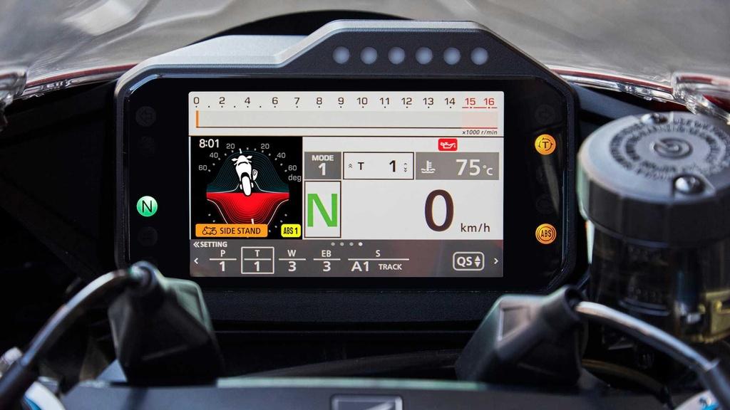 Honda CBR1000RR-R the he moi trinh lang voi thiet ke ham ho hinh anh 15