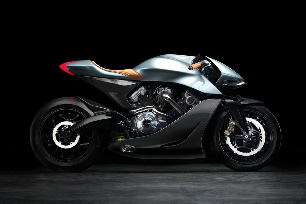 Aston Martin ra mat sieu moto gia 120.000 USD, than xe bang carbon hinh anh 1