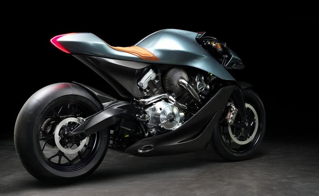 Aston Martin ra mat sieu moto gia 120.000 USD, than xe bang carbon hinh anh 9